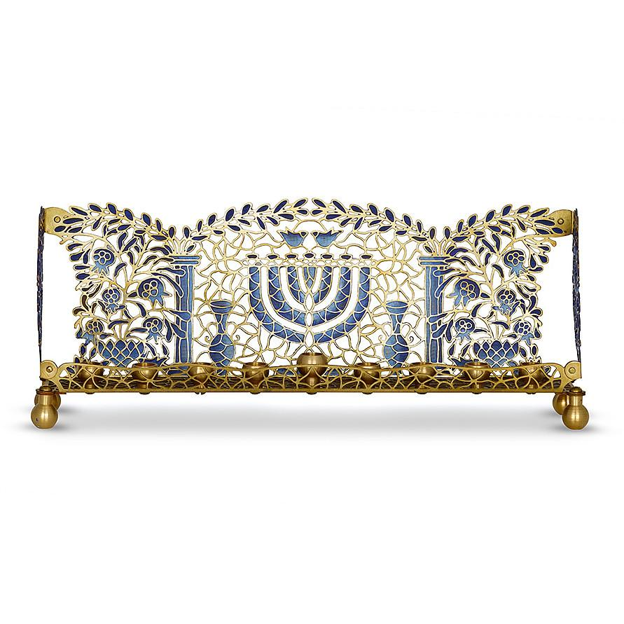 MENORAH TEMPLE BLUE