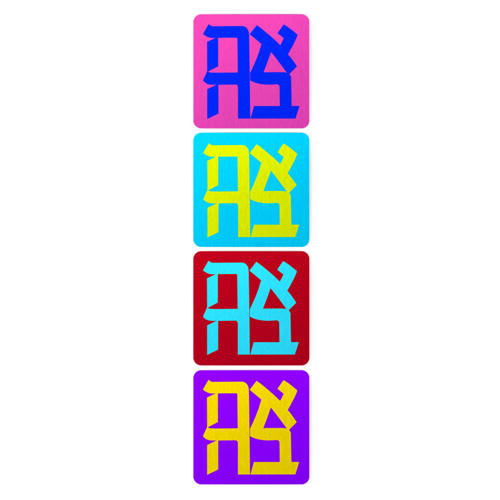AHAVA 4 MAGNETS SET
