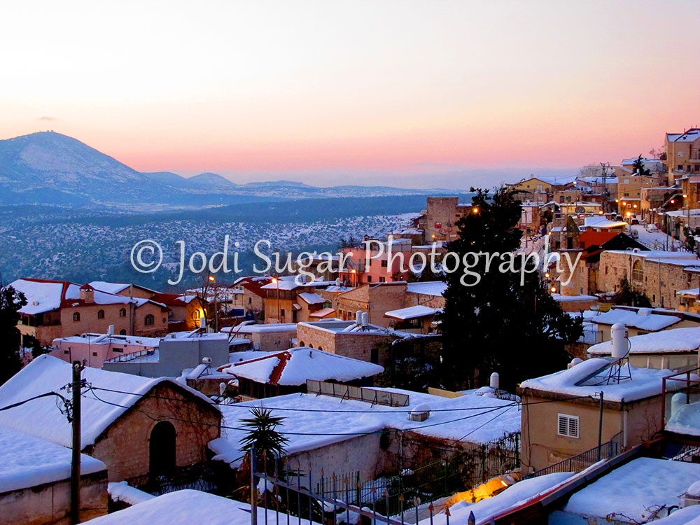 Israel Photo - Winter in Safed