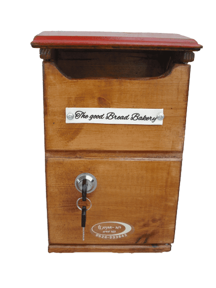 Wooden country mailbox
