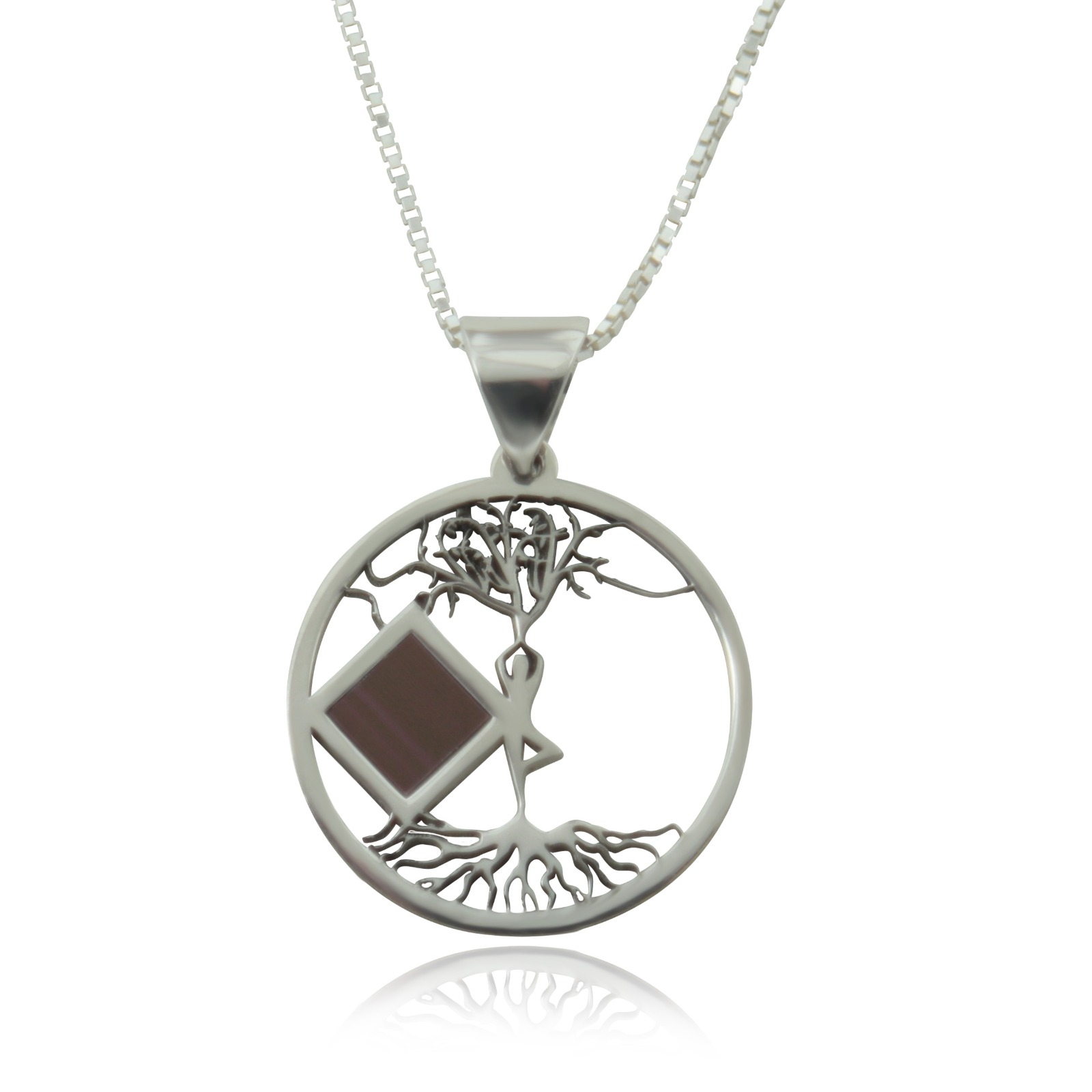 ETERNAL TREE OF LIFE NECKLACE OLD HEBREW BIBLE (TANAKH)