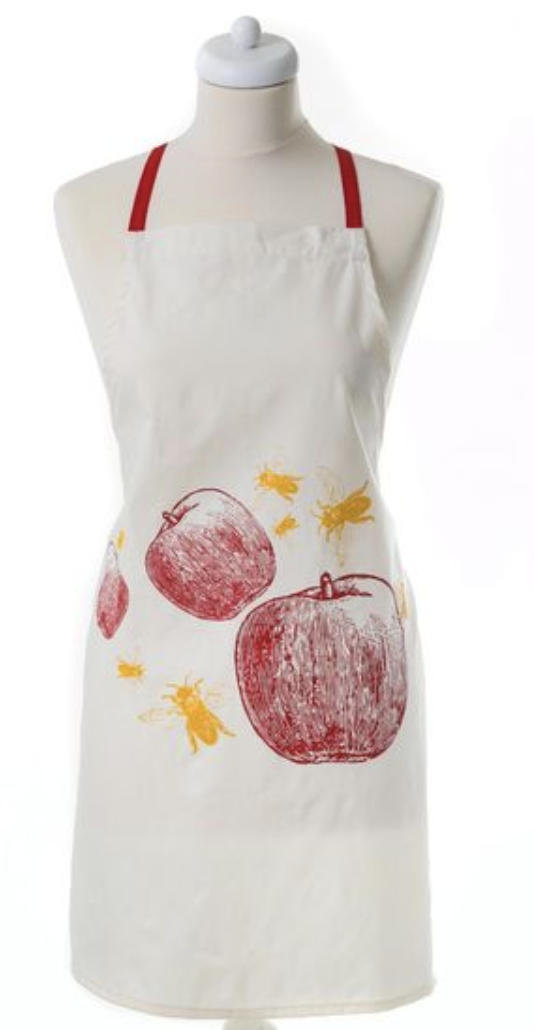 Rosh hashanah Apron- Apples and Bees | Barbara Shaw Gifts