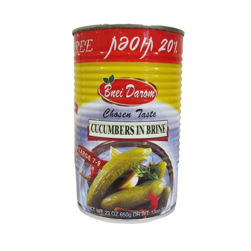 Bnei Darom Cucumber in brine Large 7-9