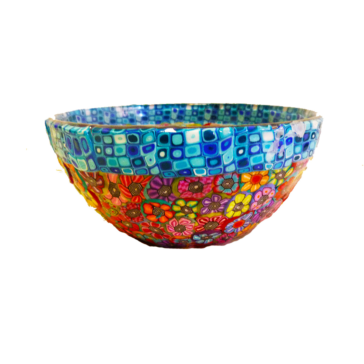 Colorful Serving Bowl For Cereal, Snack Bowl, Candy Bowl