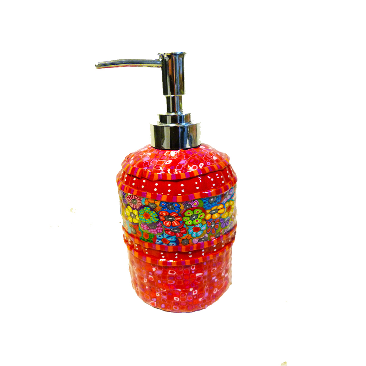 Colorful liquid Hand Soap Dispenser With Pump
