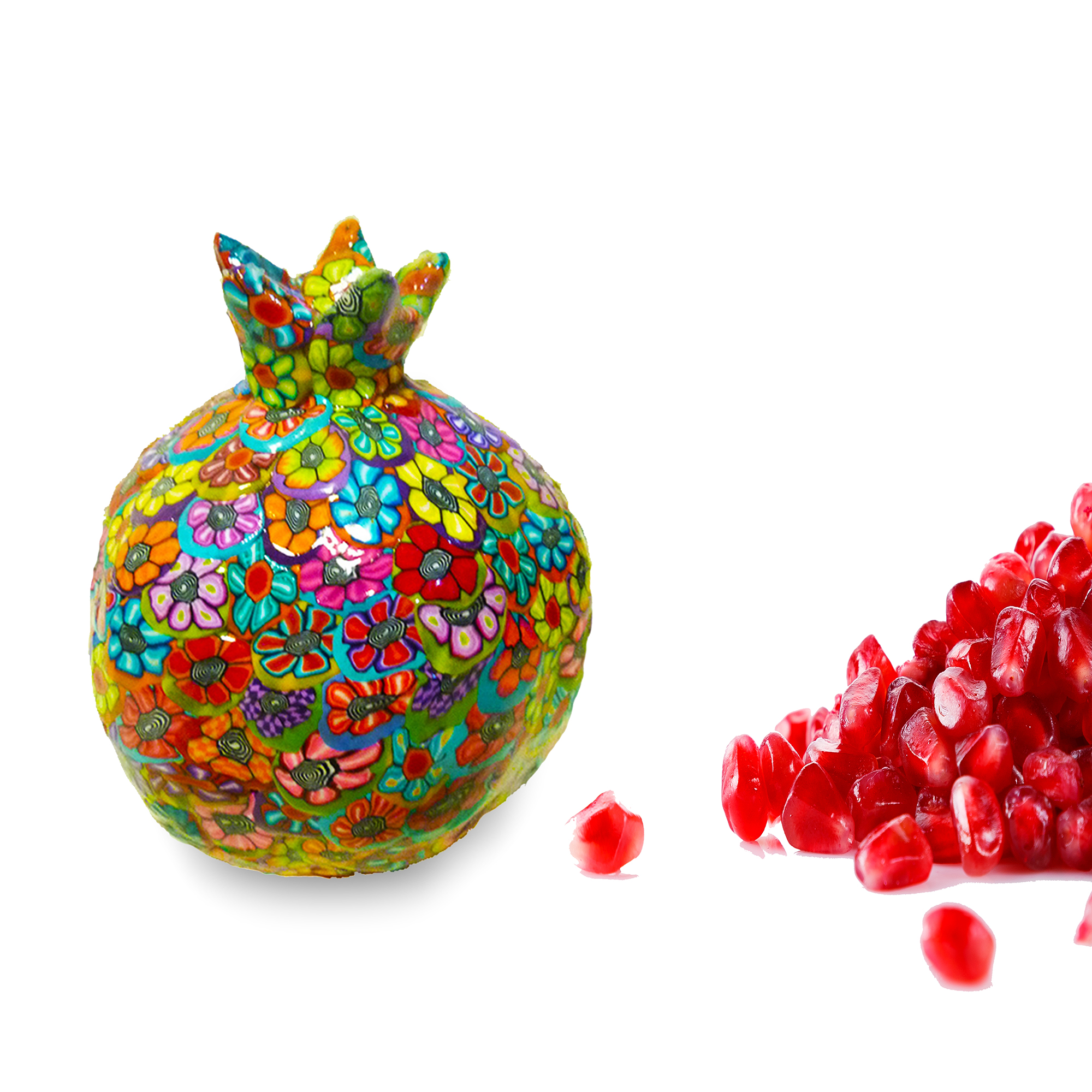 Pomegranate, Pomegranate Decor, Pomegranate Art, Pomegranate Sculpture, Jewish Gifts