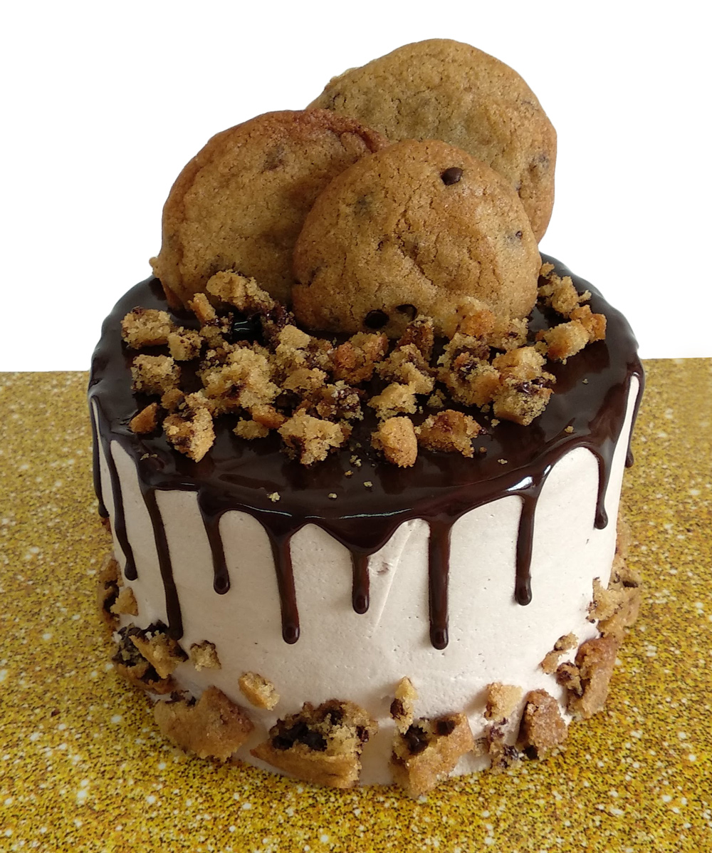 Chocolate Chip Cookie Lovers Cake