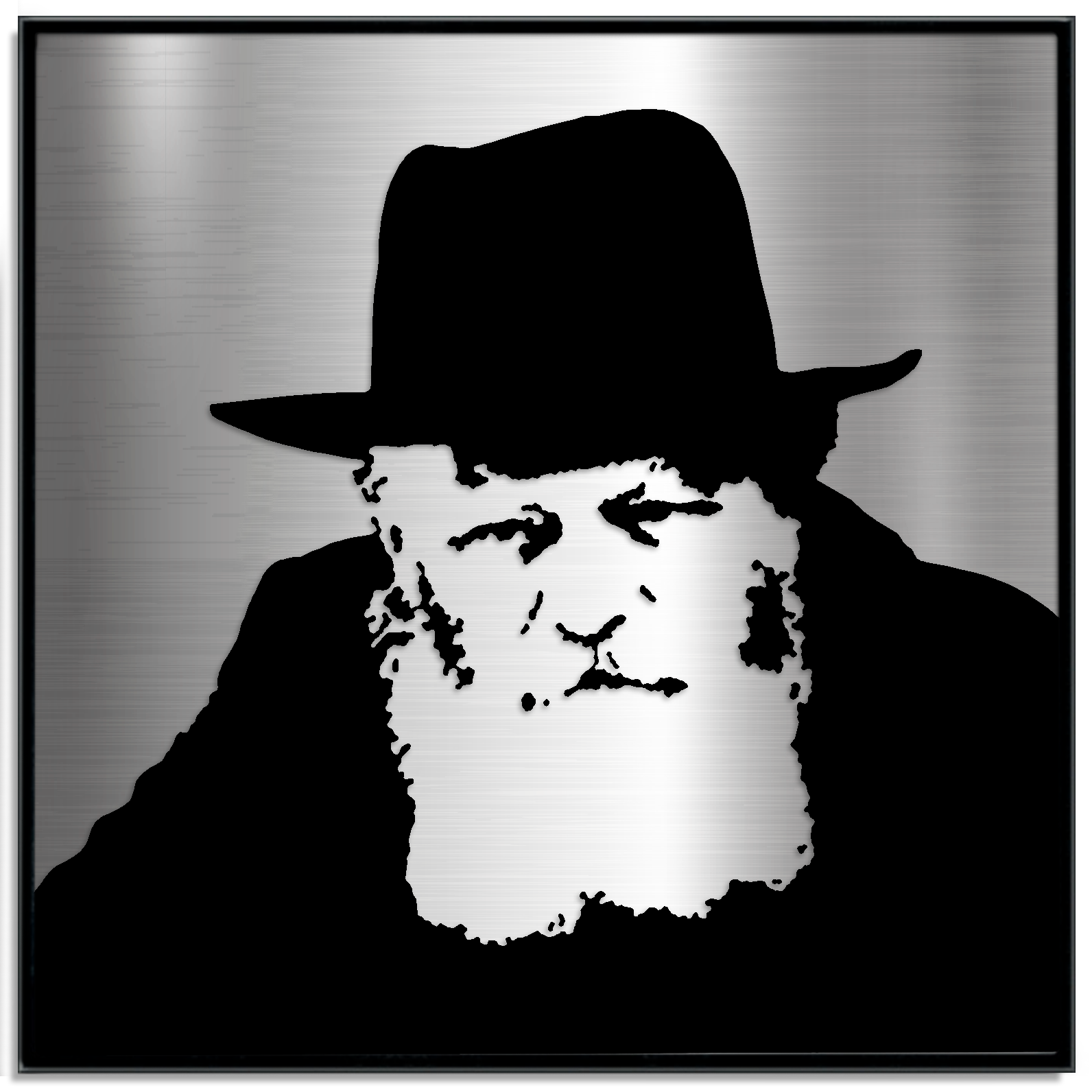 The Lubavitcher Rebbe Portrait