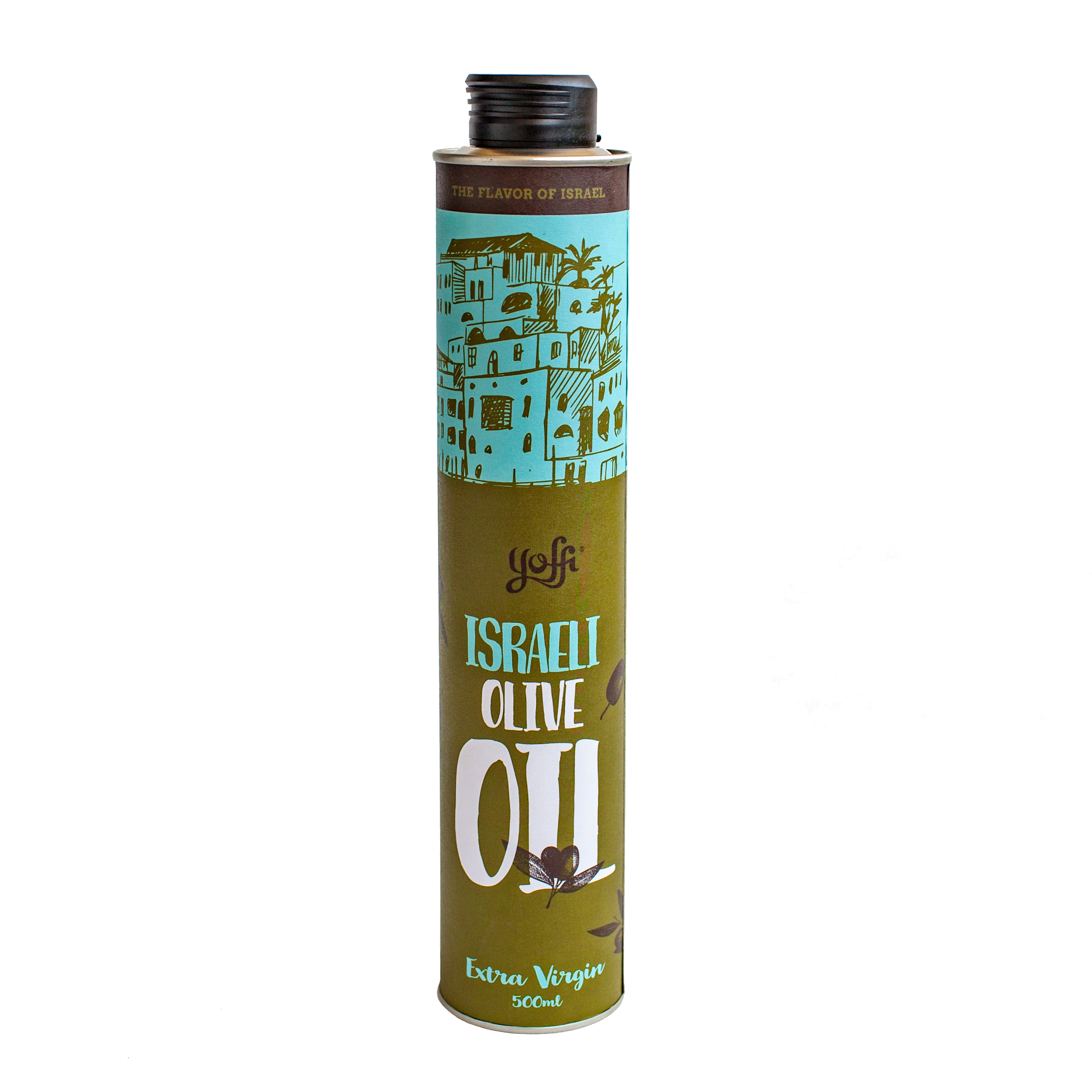 Israeli Extra Virgin Olive Oil, Gift from the Holy Land (16.9 Oz)