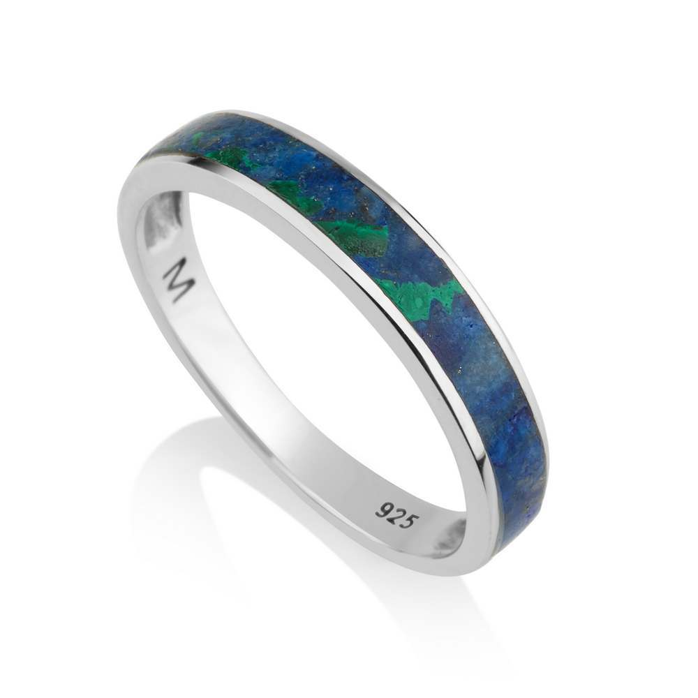 Eilat Stone Ring Sterling Silver