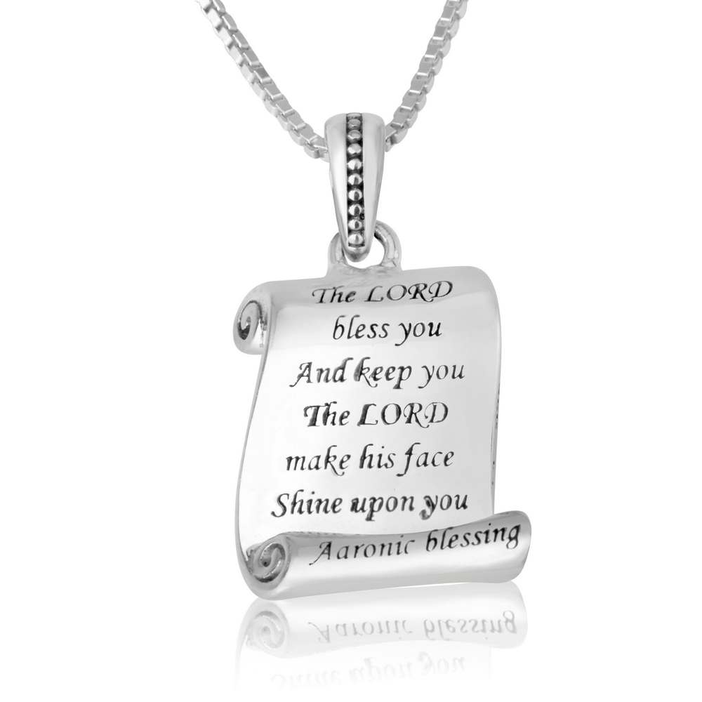 Pendant Neckalce The Lord bless you and keep you